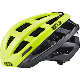 ABUS In-Vizz Ascent Kask rowerowy, green comb